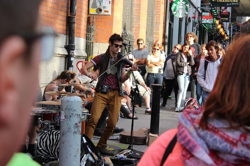 Buskers Dublin City